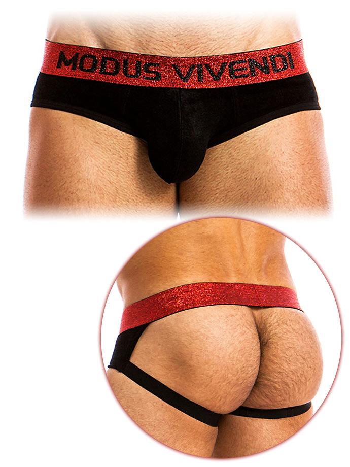 Modus Vivendi - X-Lux Jockstrap Black