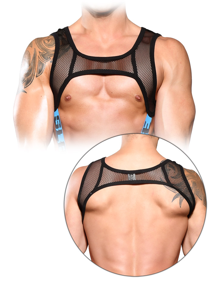 Andrew Christian - Slave Net C-Ring Harness
