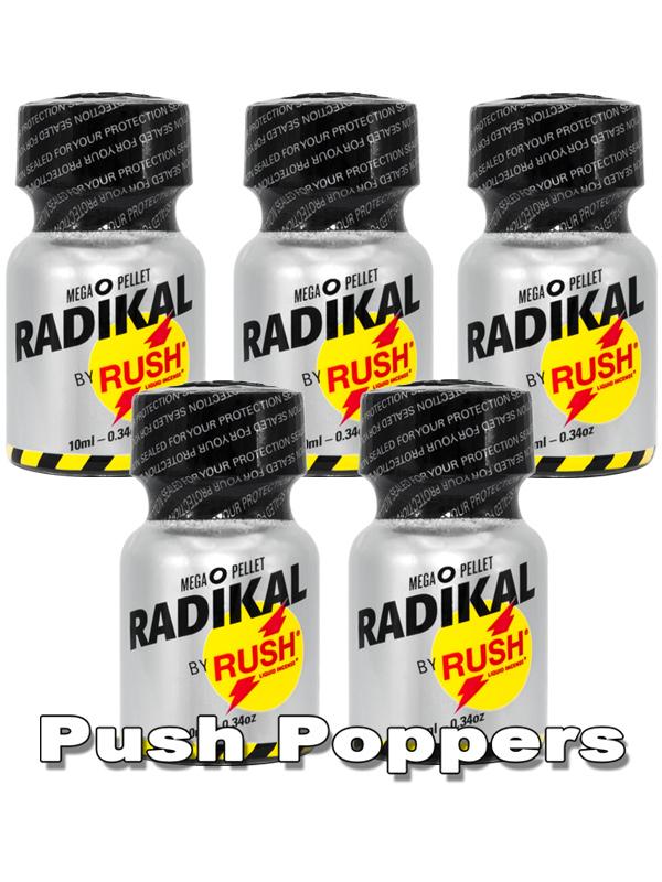 5 x Radikal Rush Small - Multipack