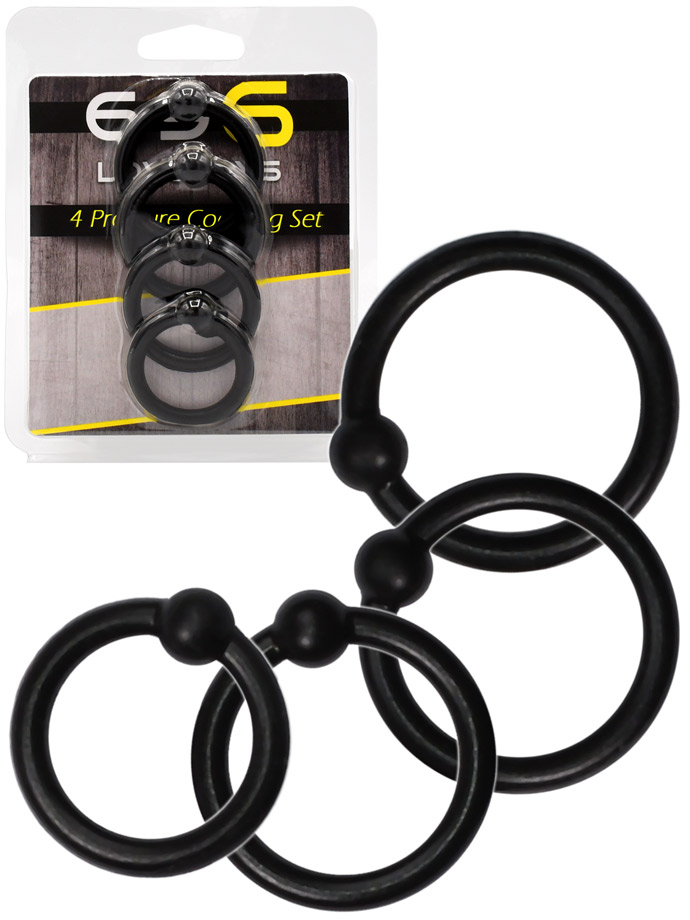 4 Pressure Cockring Set