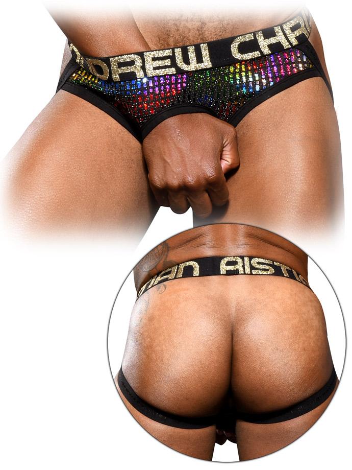 Andrew Christian - Disco Camo C-Ring Brief Jock