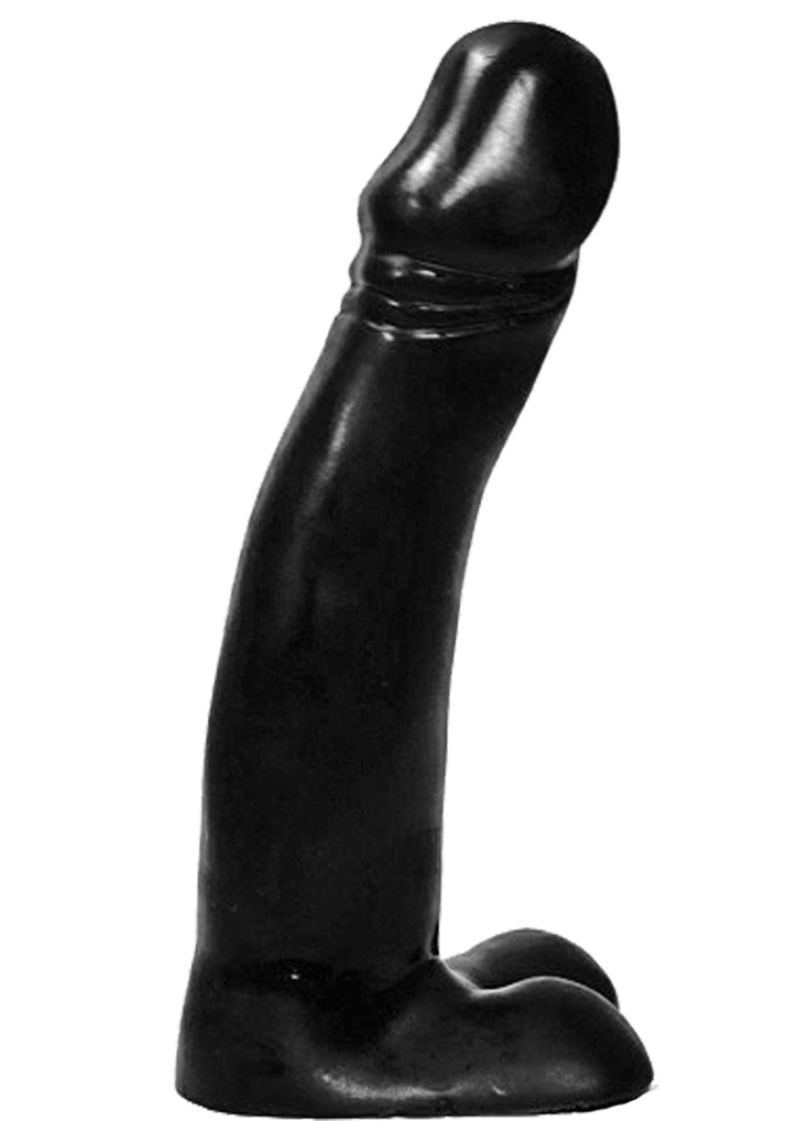 All Black Dildo 23
