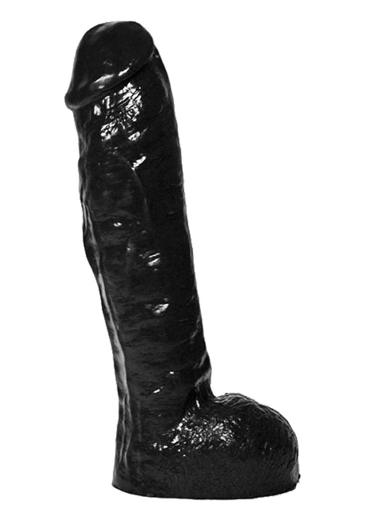All Black Dildo 34