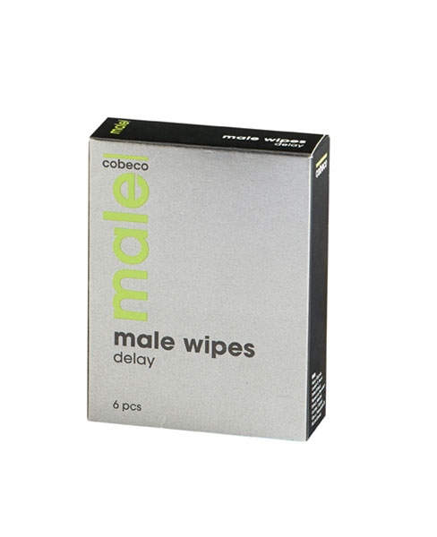 Male Wipes Delay 6 x 2.5 ml