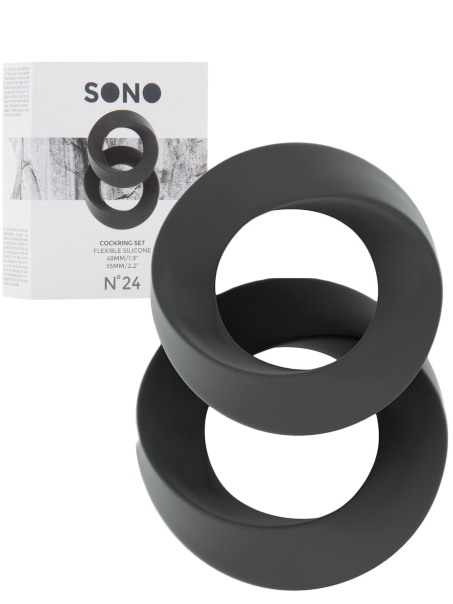 Cockring Set grau - SONO No.24