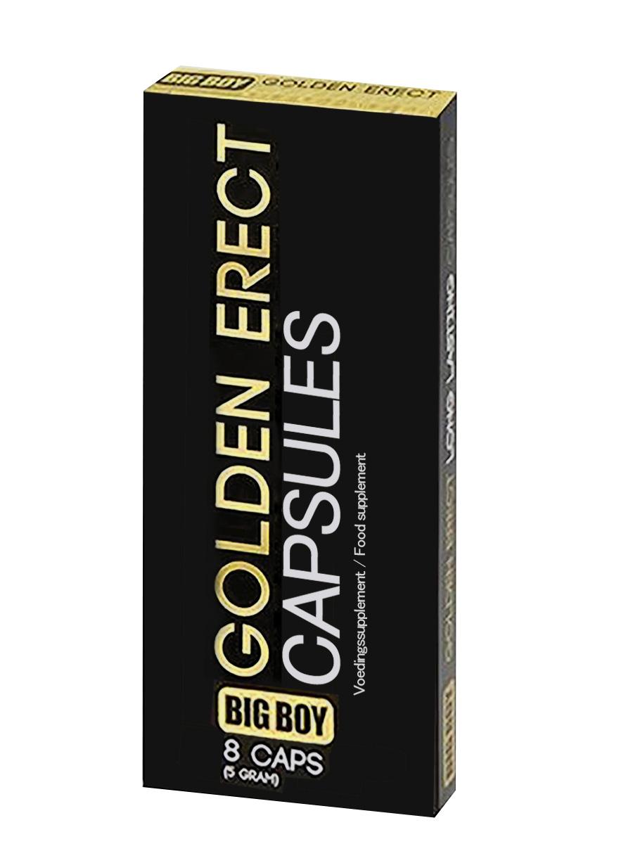 Big Boy - Golden Erect - 8 Kapseln