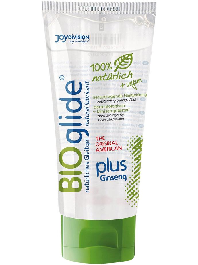 BIOglide plus Ginseng 100% natürliches u. veganes Gleitgel 100ml