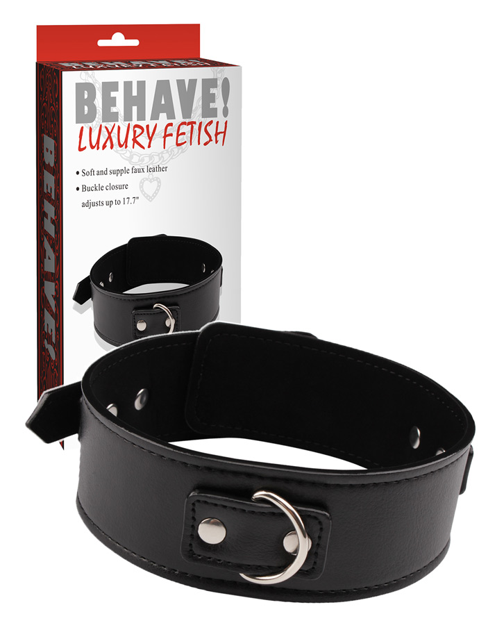 Behave! Luxury Fetish - Halsband Midnight Collar