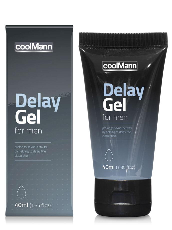 CoolMann Delay Gel - 40 ml