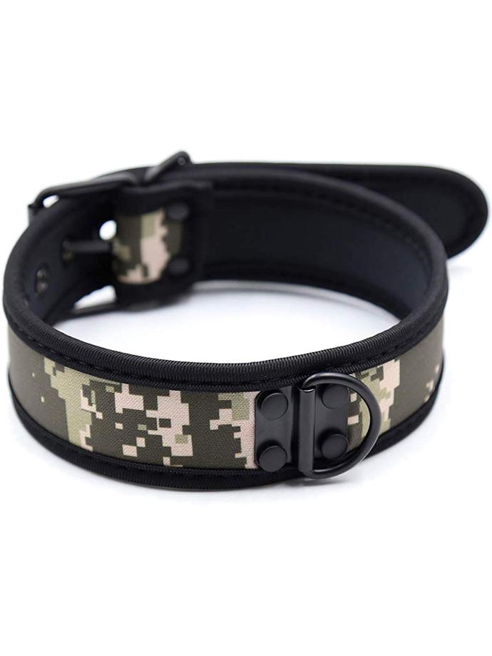 Pupplay Neopren Halsband - Camouflage