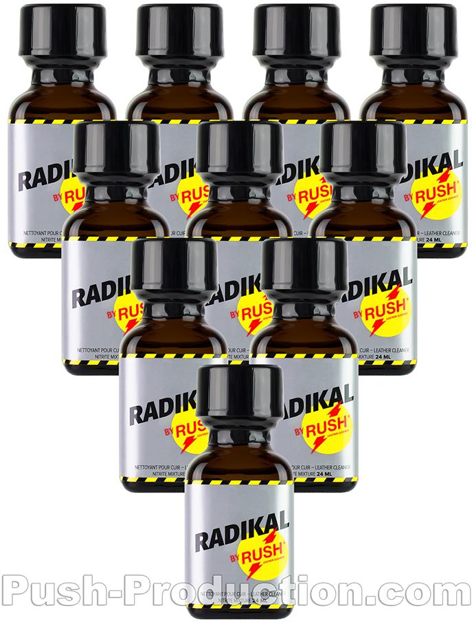 10 x Radikal Rush Big Square Bottle - Multipack