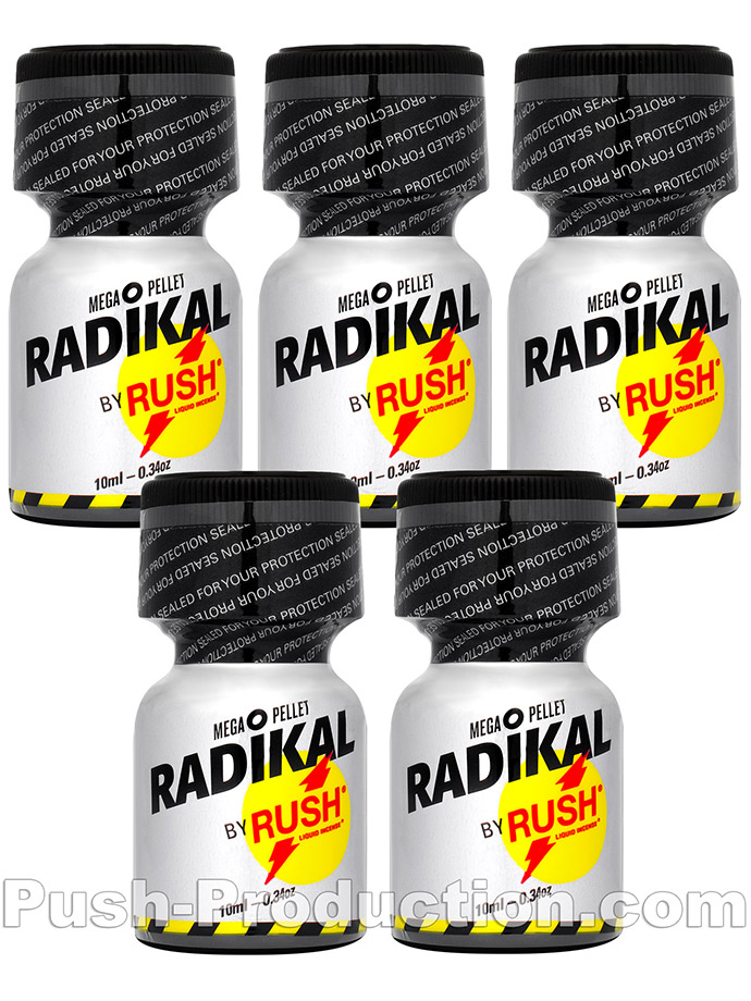 5 x Radikal Rush Small - Multipack