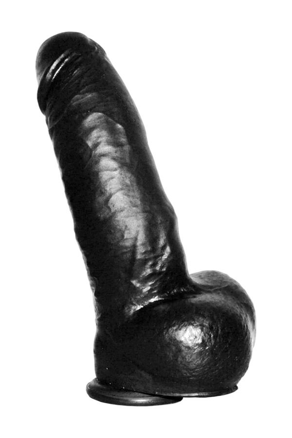 Black Pornostar Dildo Aiden