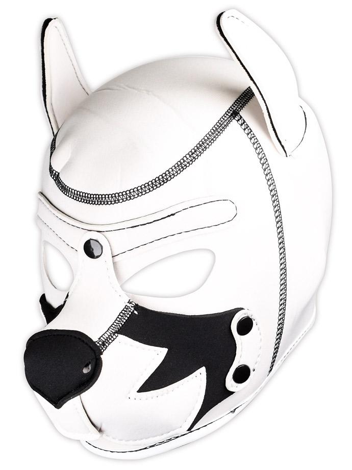 Pupplay Hundemaske - Fox Terrier Weiß