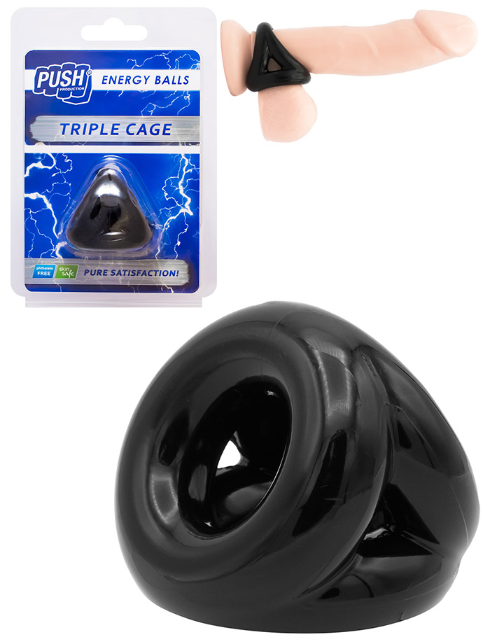 Push Energy Balls - Triple Cage