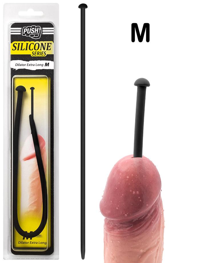 Push Silicone - Dilator Extra Long M