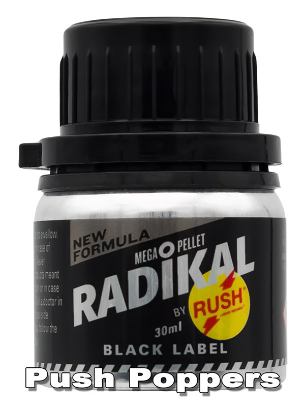 RADIKAL RUSH BLACK LABEL big alu bottle