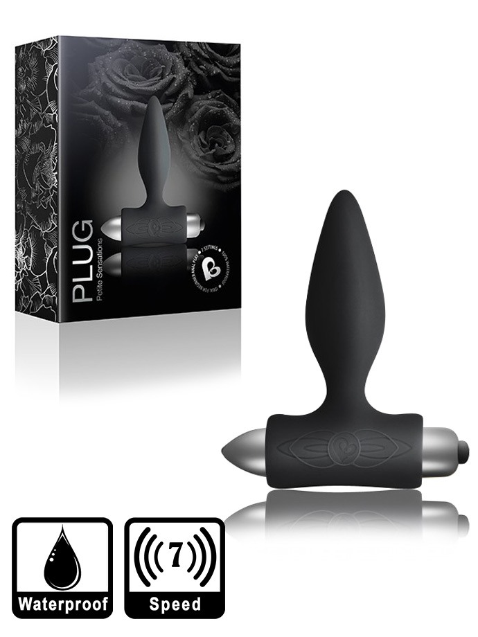 7 Speed Petite Sensations - Plug - Black