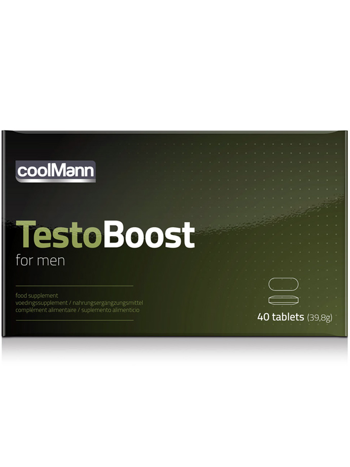 TestoBoost for men - 40 Tabletten