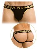 Modus Vivendi - Handcrafted Jockstrap - Schwarz