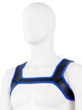 Pupplay Neopren Harness - Blau/Schwarz