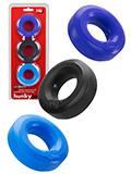 Hünkyjunk - C-Ring Multipack - Black + Cobalt + Navy