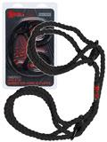Kink - Hemp Wrist or Ankle Cuffs 6mm - Schwarz
